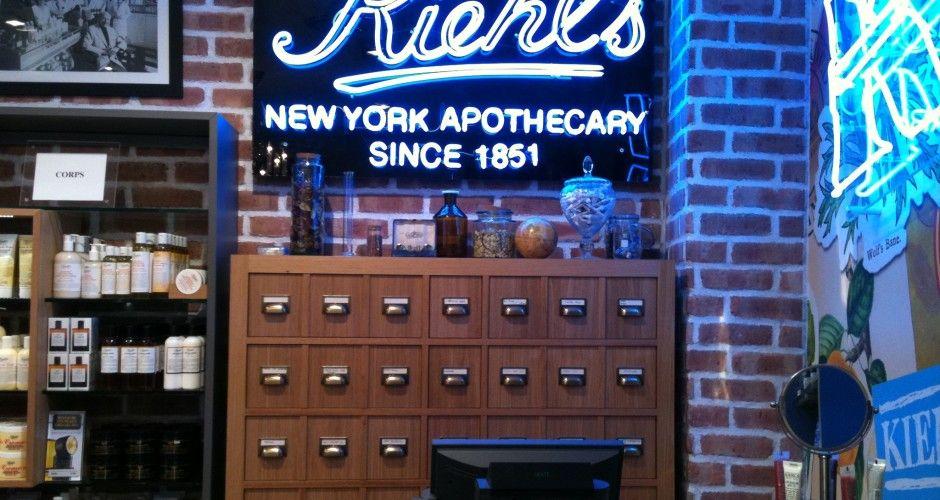 Kiehl's ouvre une nouvelle boutique