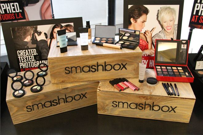 Maquillage de stars avec Smashbox Cosmetics