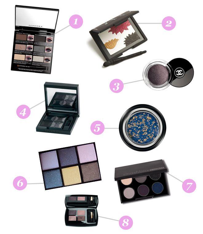 shopping produits maquillage smoky eye