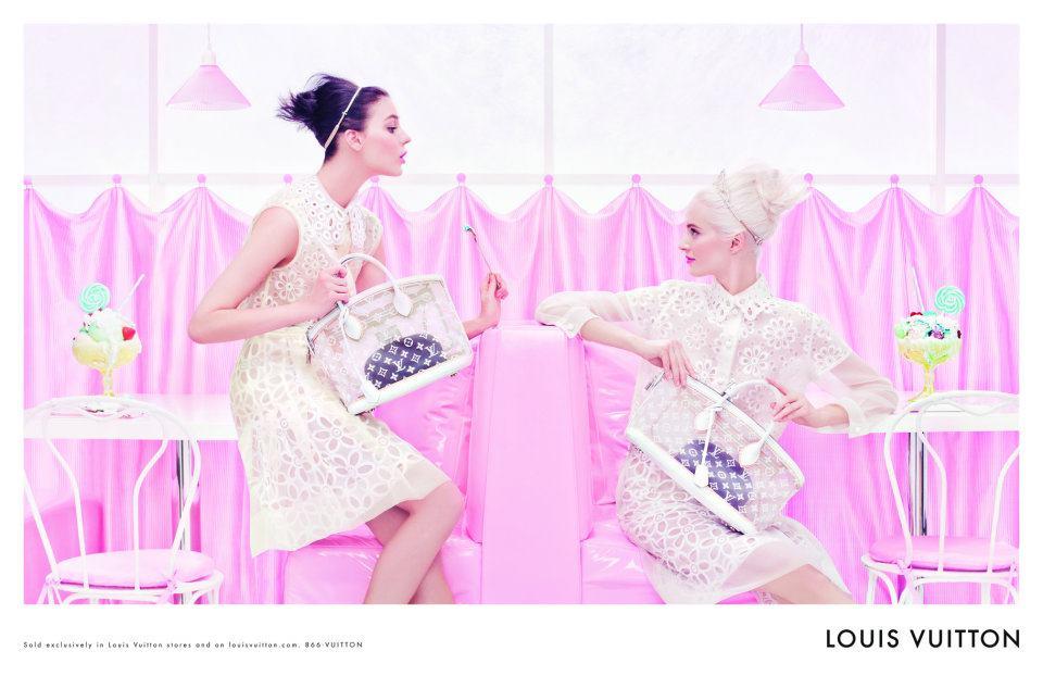 Louis Vuitton nouveau parfum campagne printemps été 2012