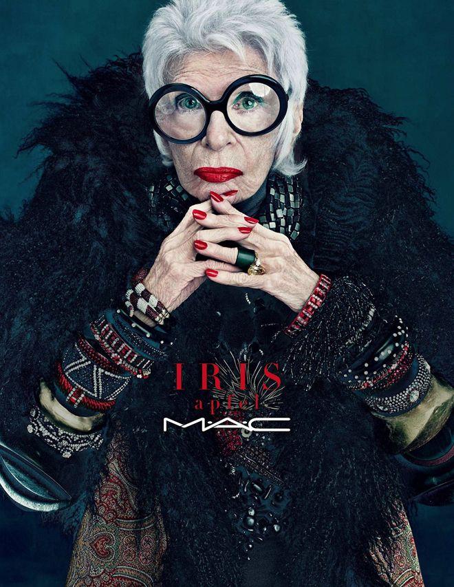Iris Apfel M.A.C