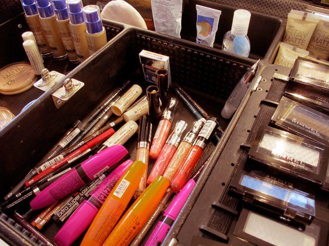 maquillage RIMMEL London Olivier Tissot