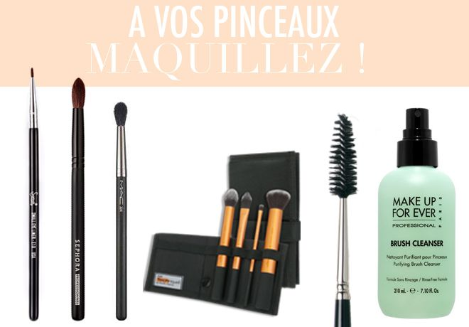 shopping pinceaux maquillage JolieBox