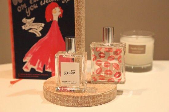 parfum PURE GRACE Philosophy warm & cosy PINK JolieBox