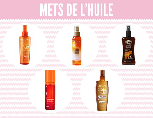 Huile solaire protection JolieBox