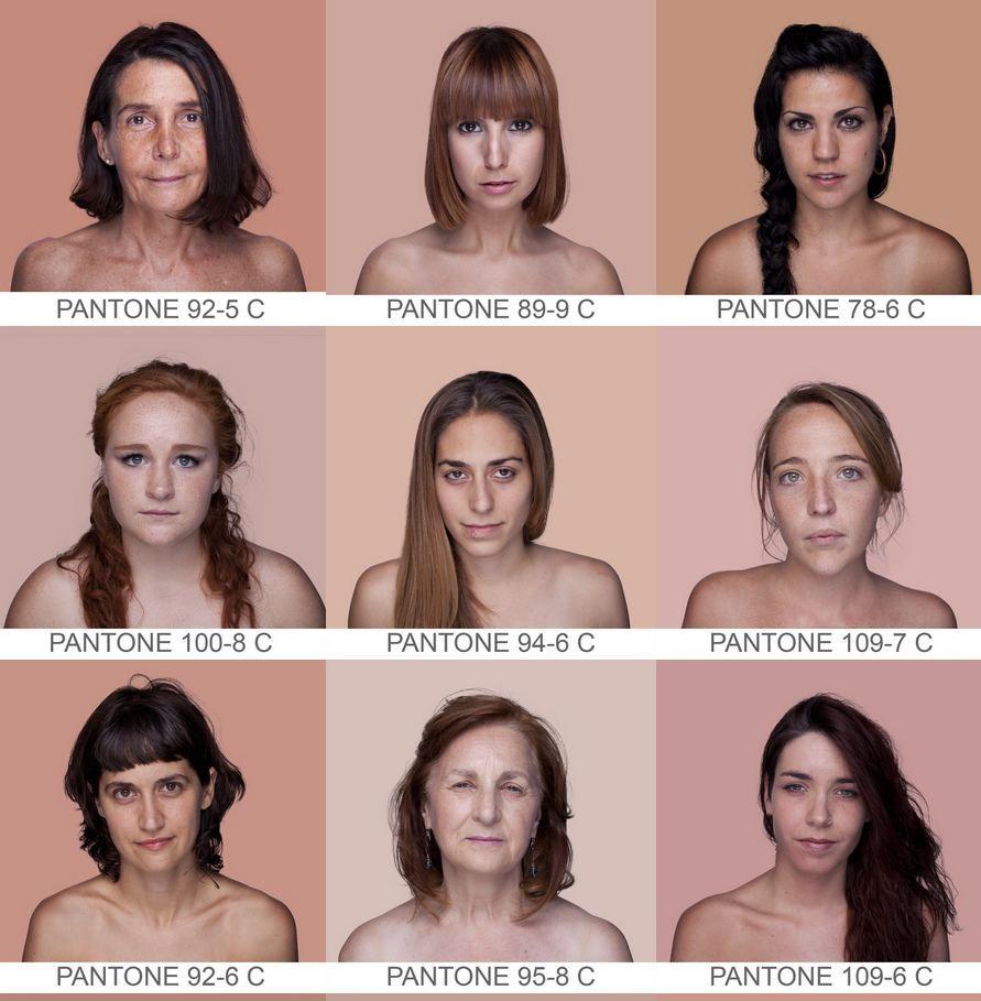 base de donnée universelle des couleurs de peau - JolieBox - Humanae