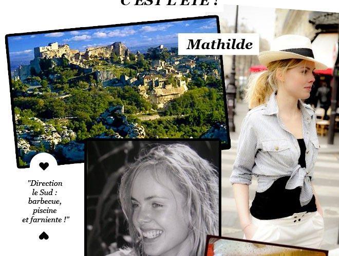 En vacances avec la JolieTeam : Mathilde