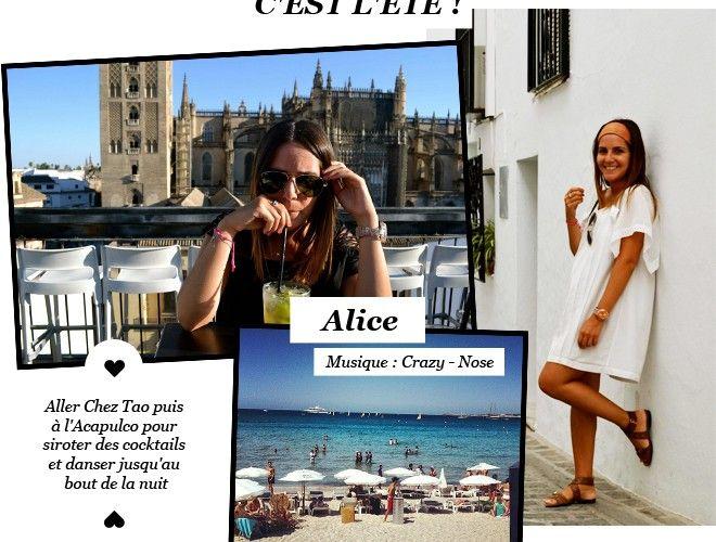 En vacances avec la JolieTeam : Alice