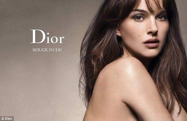 Diorskin nude rouge nude Natalie Portman automne 2012