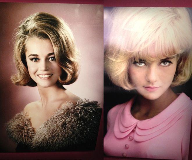 Jane Fonda excpo cheveux chéris