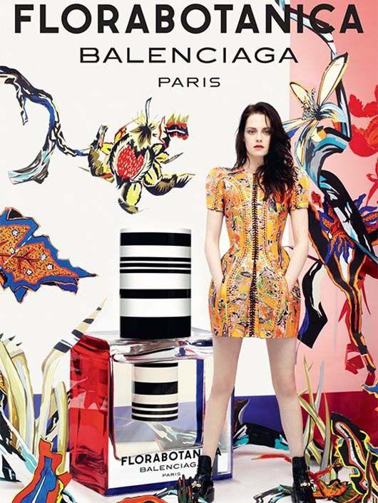 Kristen Stewart FloraBotanica Balenciaga Paris Ad