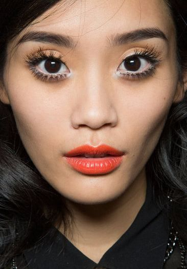 Moschino spring summer 2013 beauty backstage