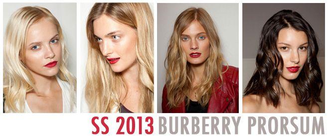 Burberry Prorsum beauté backstage ss 2013 JolieBox