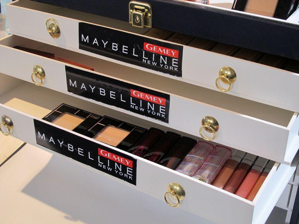 Gemey Maybelline maquillage