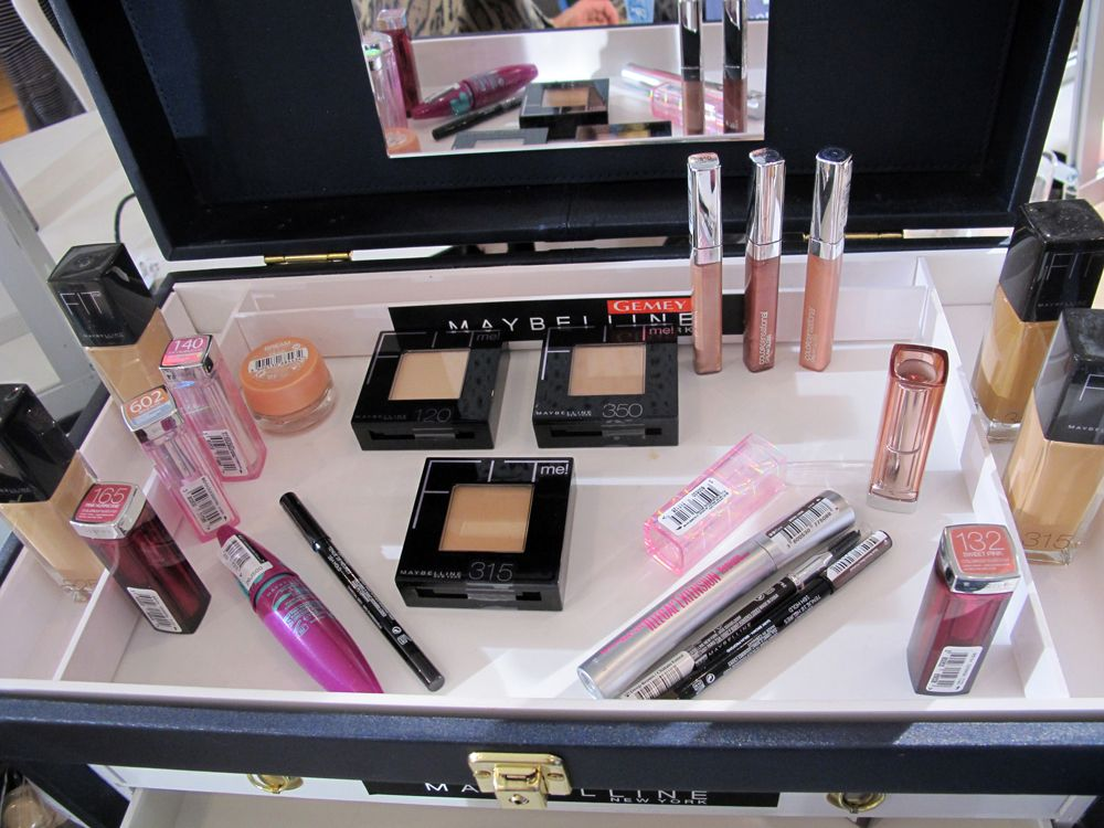 look make up Gemey maybelline Paul & Joe ss2013