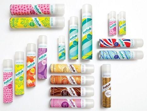 Le favori de la team: Le shampooing sec Batiste