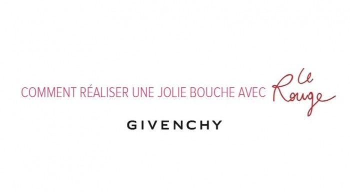 Les lèvres rouges par Givenchy