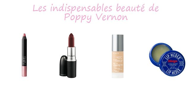 Poppy Vernon-beauté-makeup