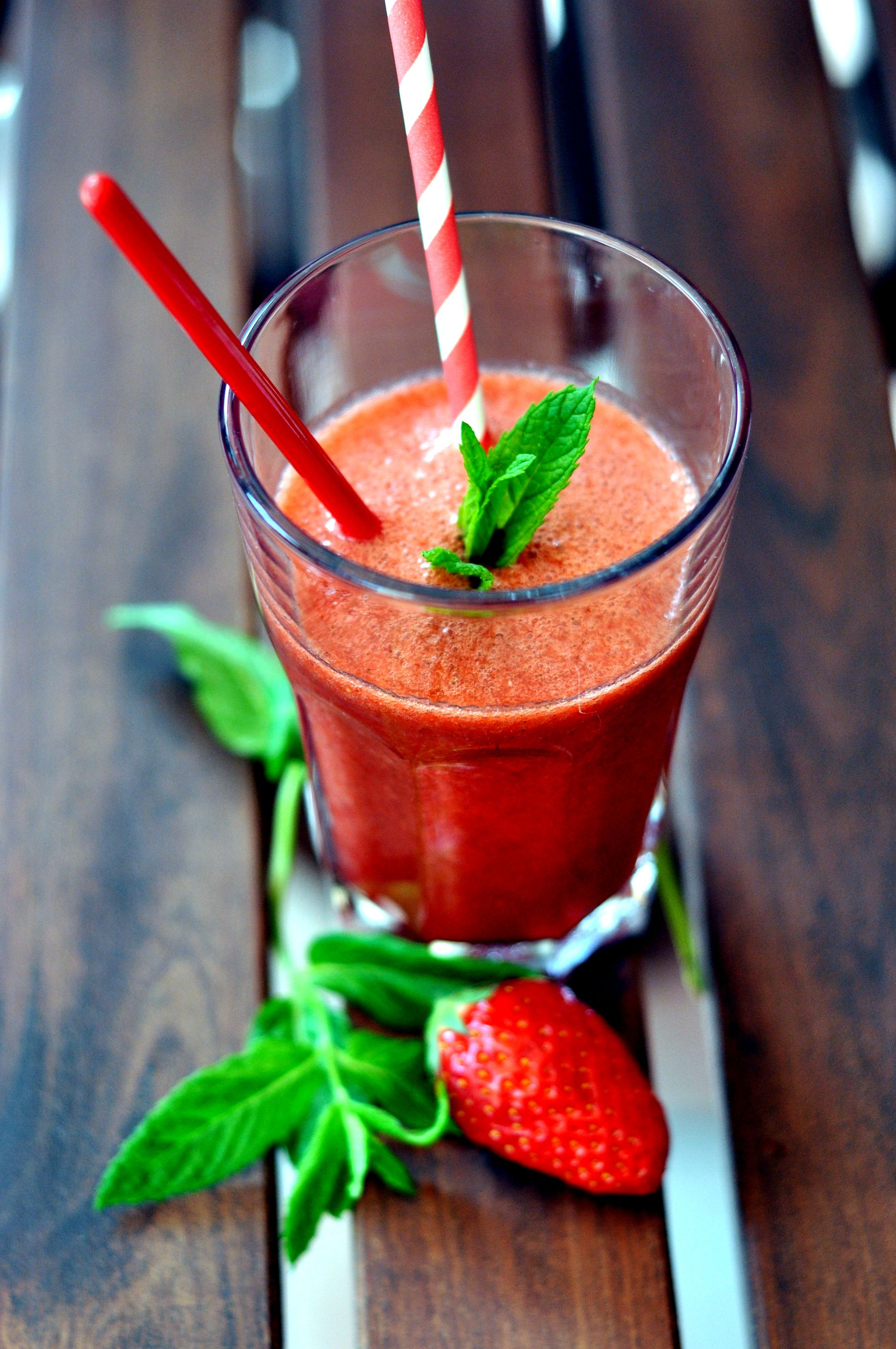smoothie-fraise-pamplemousse