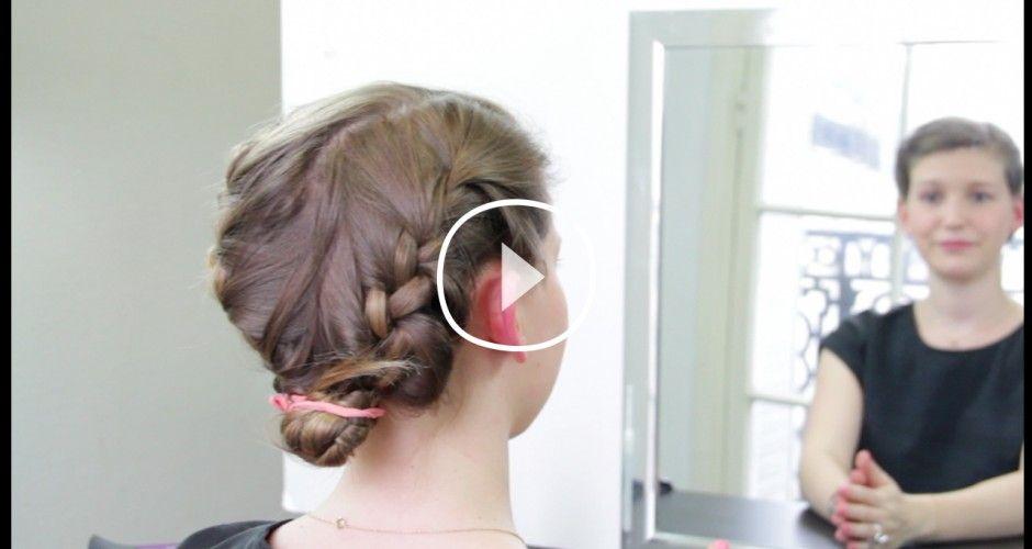 Vidéo : Idée coiffure pour un mariage