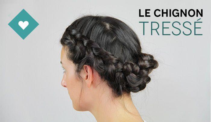 Step by step: le chignon tressé