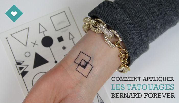 Comment appliquer des tatouages éphémères
