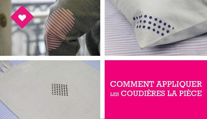 Step by step : comment appliquer les coudières La Pièce