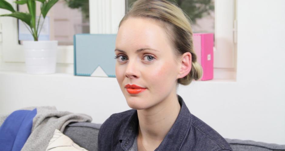 Vidéo : un make-up orangé