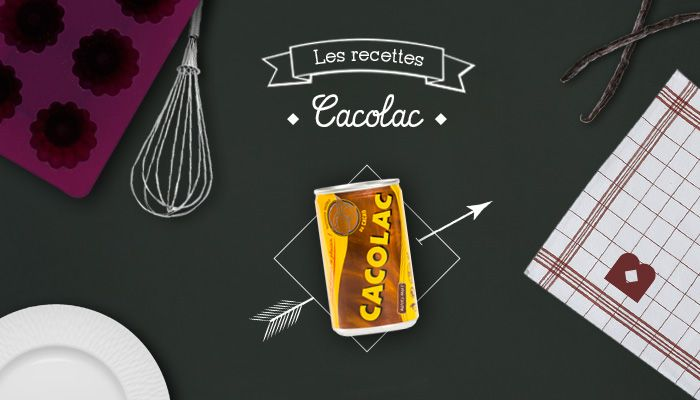 3 recettes Cacolac gourmandes