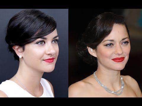 Make-up de star : la bouche rouge de Marion Cotillard