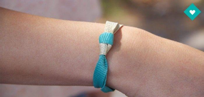 DIY lacets Bensimon : notre tuto pour un bracelet Noeud