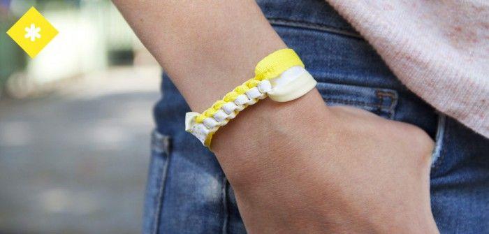 Lacets Bensimon : notre tuto bracelet Scoubidou
