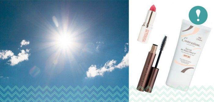 Un makeup d'été pour ne pas fondre au soleil