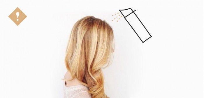 Un spray pour… se colorer les cheveux