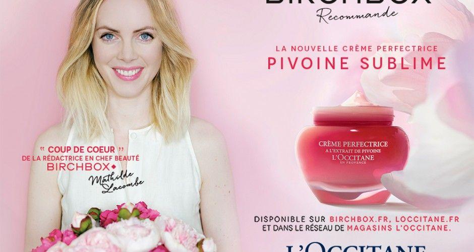 Birchbox x L'Occitane : les coups de coeur beauté de Mathilde Lacombe