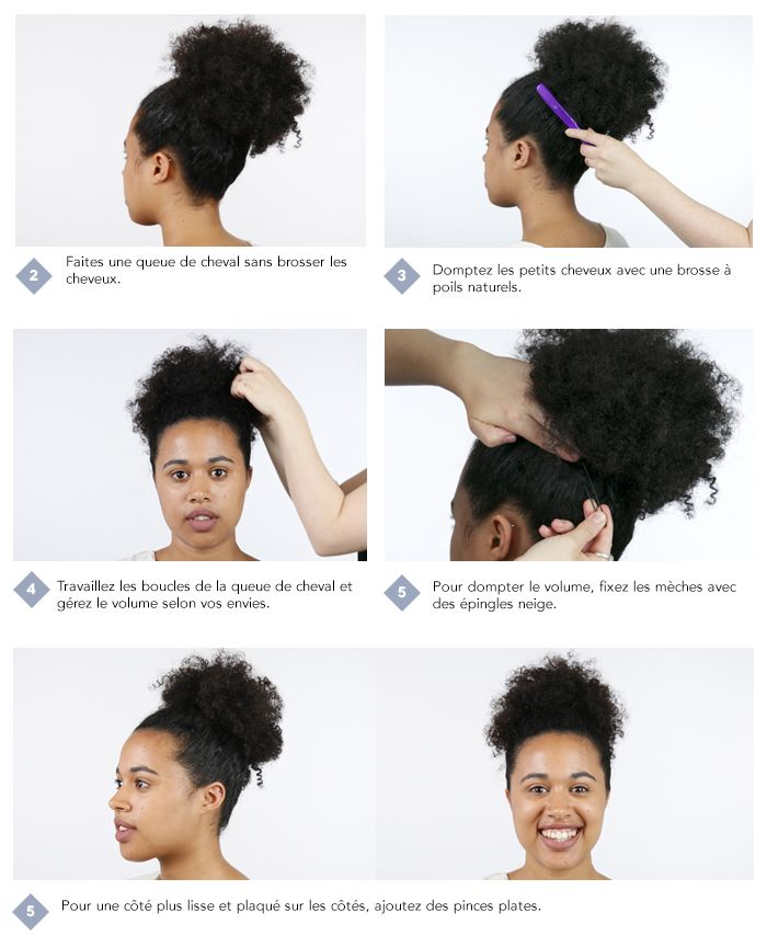 Step by step - cheveux bouclés (1)