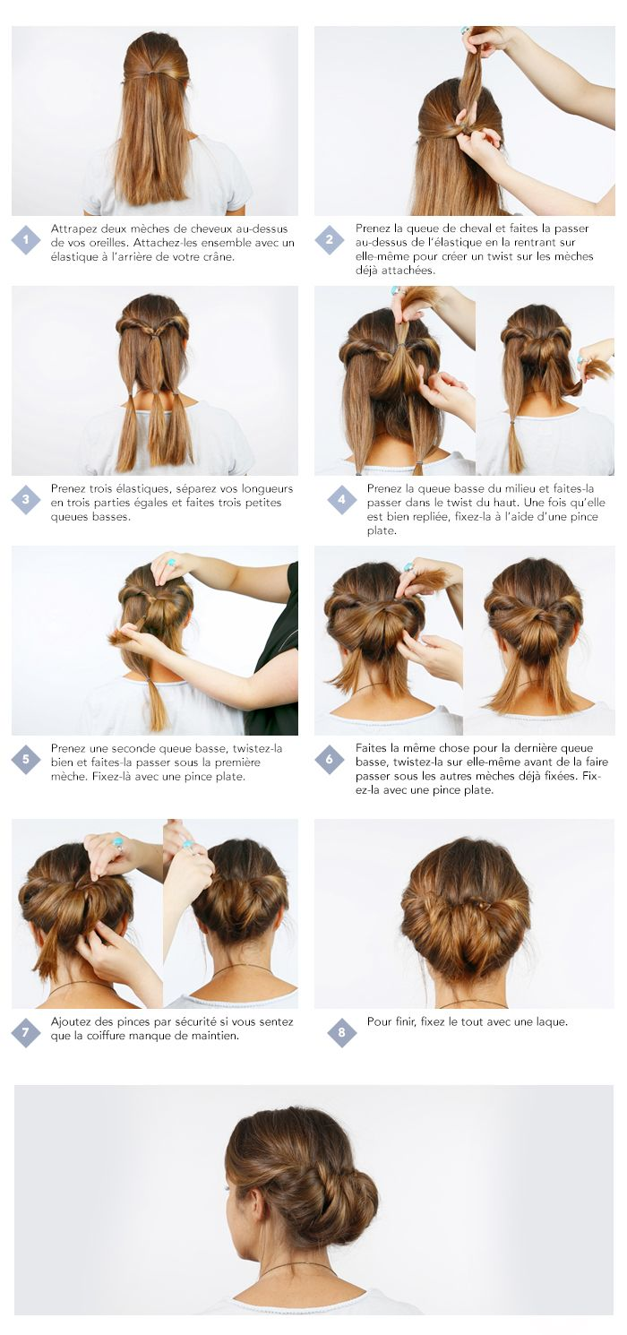 Step by step - cheveux long (3)