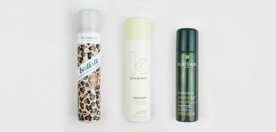 Le test : les shampooings secs