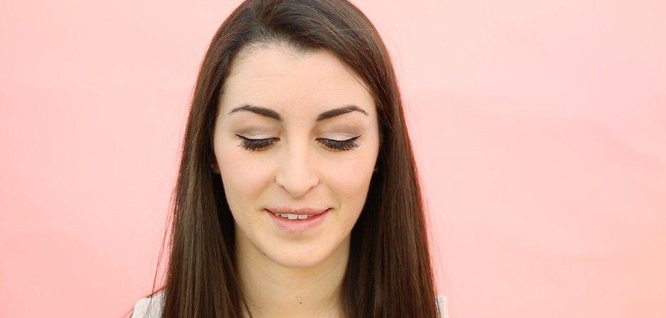 Un trait d'eyeliner original