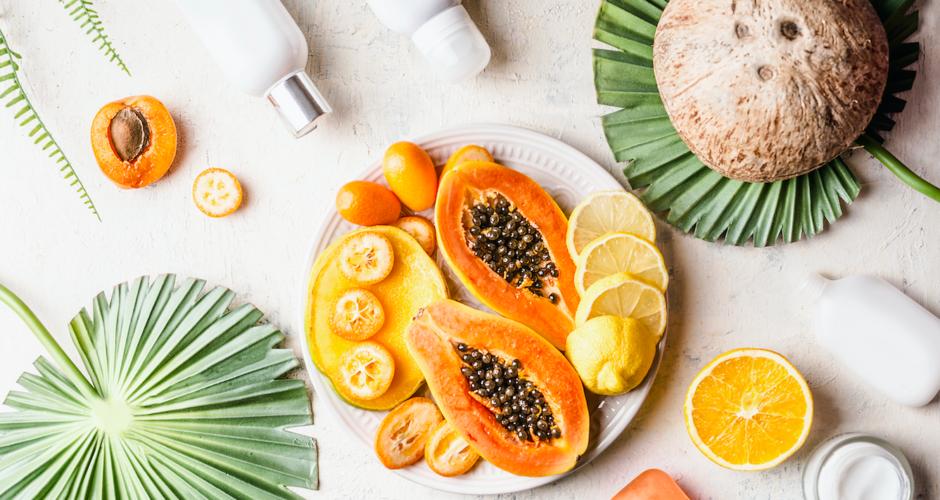 Faites peau neuve avec les acides de fruits !