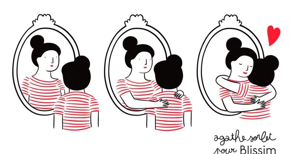 Vos fonds d'écran Self Love dessinés par les soeurs Sorlet