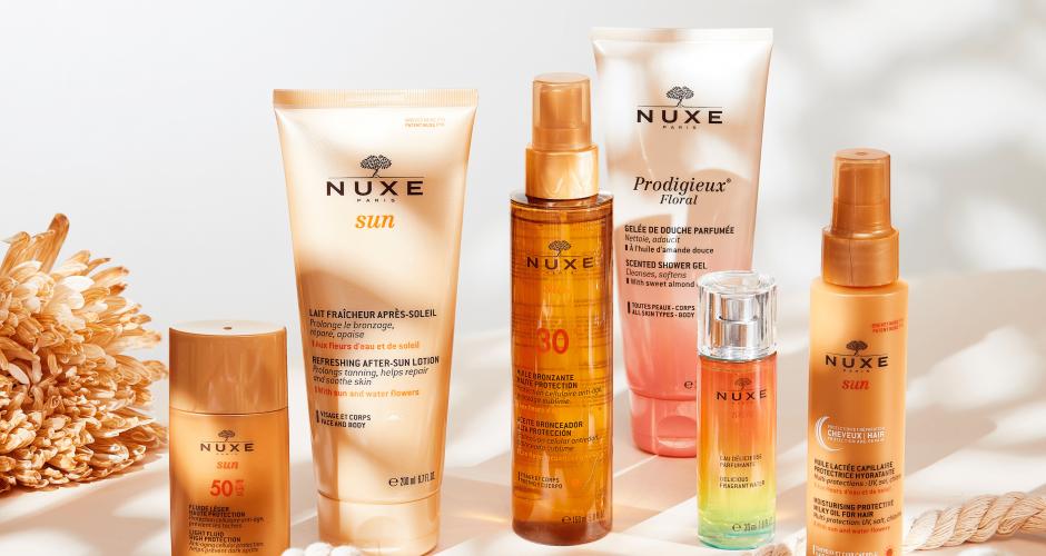 Comment préparer sa peau à l'été avec Nuxe ?