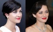 Make-up de star : la bouche rouge de Marion Cotillard