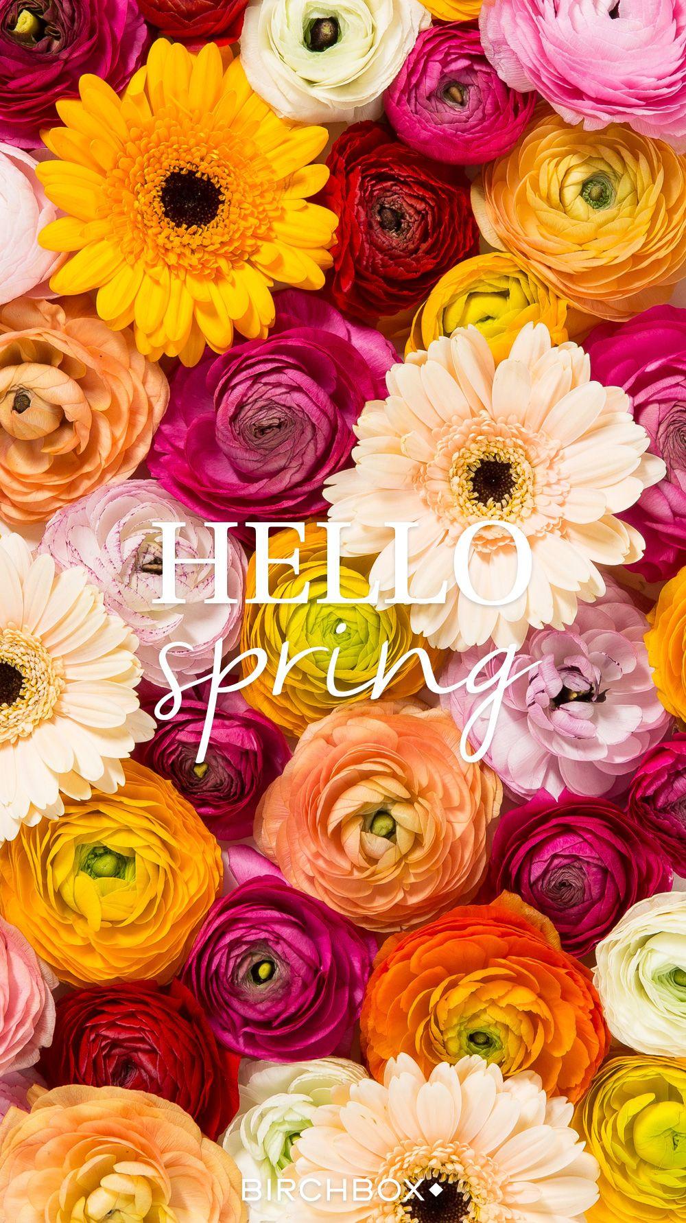 Hello Spring - Vos fonds d'écran du printemps - Encyclobeauté Birchbox