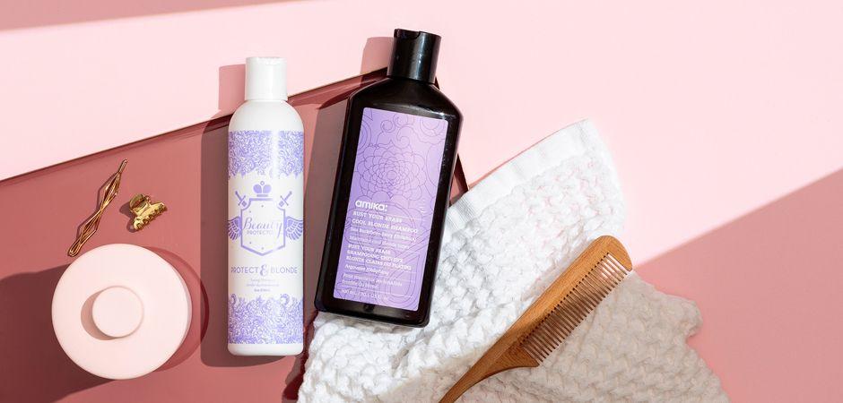 Pourquoi utiliser un shampooing bleu ?